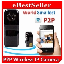 Smallest Wireless IP Camera MD81s P2P Wifi Sport Mini DV DVR Recorder