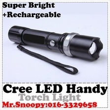 (FULL SET)High Quality Metal Super Bright Led Torch Light,Cree LED