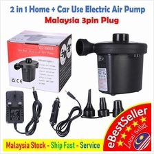 Electric Air Pump Inflatable Air bed Pumper Car , 2 Ways And Home Use