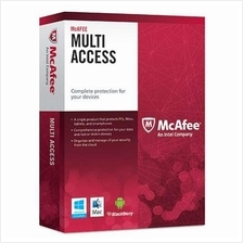 Mcafee Multi Device 2016 - 1Year+3M 3Users Windows 10,8.1/8,7,Vista,XP