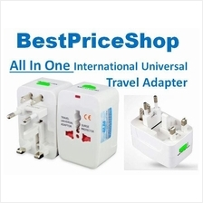 International All in One Universal Adaptor Power Travel Adapter Plug