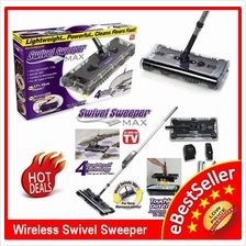 Original Swivel G8 Rechargeable Sweeper Max As Seen on TV Spray Mop
