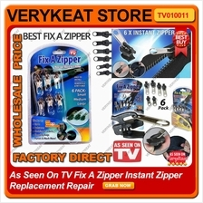 As Seen On TV Real Fix A Zipper Instant Zipper Replacement Repair