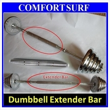 30CM Dumbbell Extender Bar - Transform your dumbbell to Barbell pole