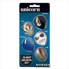 Unicorn Dart Flight Selecta Kit RM50