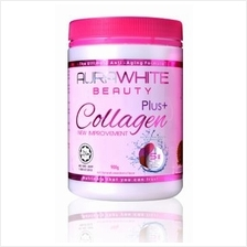 2 Jar Aura White Pure L-Glutathione Collagen Free Ship + Free Gift