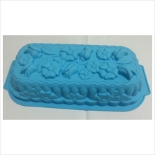 Silicone Flower type Rectangular Cake / Jelly Mold