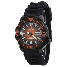 Seiko SRP311J2 SRP311 Superior Combo Monster Diver Black Mens Watch