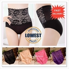 6pcs + RM6/Pcs ONLY ! Sexy Lace High Waist Panty / Panties / Underwear)