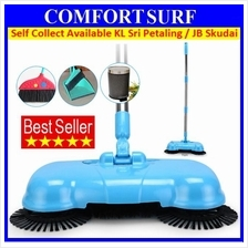 Portable eco Green Sweeper Broom Vacuum Cleaner 360 Without Electric