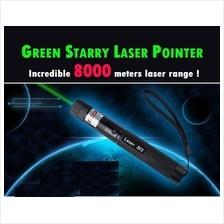 Ultra Green Laser Pointer with Incredible 8000 meters laser range