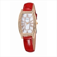 Eyki Kimio KW516 Retro Style Women Leather Strap Rhinestone