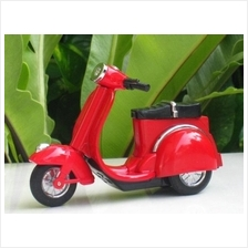 Table Lighter Motorcycle Bike Vespa Style RED