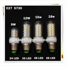 Super Long Life Energy Saving  E27 LED light SMD 5730 Corn Bulb Lamp