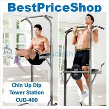 Korean Chin Pull Up Dip Tower Station CUD-400 Abs Upper Body Exercise