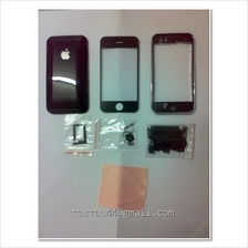 New full housing cover for Apple iPhone 3G 16GB Black Color .
