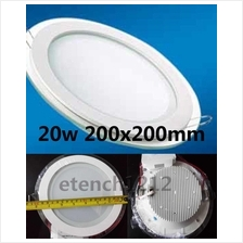 20W LED 6 inche Glass Downlight High Quality 200mm