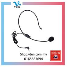 3.5mm Microphone Headset Studio Confer for loudspeaker Amplifier