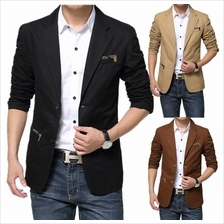 Korean Style Slim Fit Casual Men Blazer Coat/Men Suit Jacket)