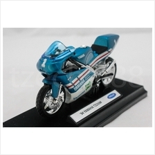 Welly 1:18 DIECAST Motocycle '94 YAMAHA TZ250M Blue Color Model New