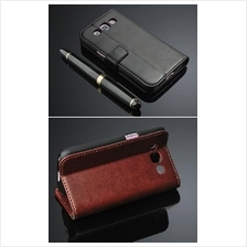 Leather Case for Samsung Galaxy Grand Quattro i8552 (40034)