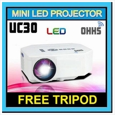 【ORIGINAL】OHHS UC30 Mini LED Projector HDMI - 2 Colors