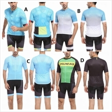 Men Fashion Bicycle Cycling Biking Bike Jersey n Pants baju basikal