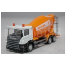 RMZ City DIECAST 1:64 SCANIA Cement Mixer Truck Orange Constructor NEW