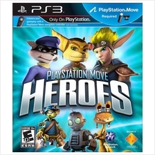 Playstation 3 Move Games Heroes, Carnival Island, The Shoot