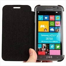 Leather Case for Samsung i8750 ATIV S (9 colors)