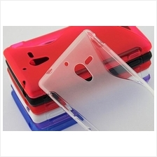 Soft Back Cover for Sony Xperia ZL LT35h L35H (0425)