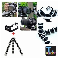 Large Flexible Camera Tripod Octopus Bubble Tripod with Mobile clip