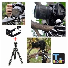 Medium Flexible Camera Tripod Octopus Bubble Tripod with Mobile clip