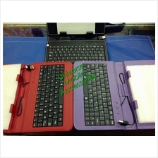 QWERTY KEYBOARD FLIP POUCH FOR TABLET & PHABLET FLIP CASE