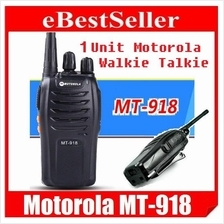 1 Unit Motorola Walkie Talkie Headset MT 918 5W Original High Quality