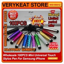 Wholesale 100PCS Mini Universal Touch Stylus Pen For Samsung iPhone