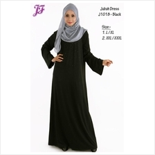 Bella Jubah Dress with Rhinestone J1018