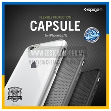 100% Original SGP Spigen iPhone 6S 6 Plus Capsule Clear Cover Case