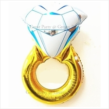 30 inch & 43 inch Diamond Ring Foil Balloon For Wedding/Propose