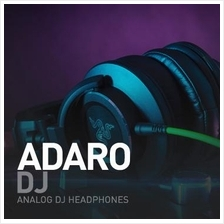 RAZER ADARO DJ ANALOG HEADPHONE HEADSET for PC LAPTOP MP3 DISC JOCKEY