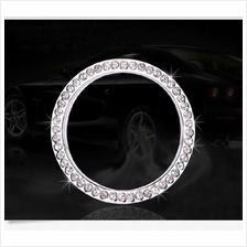 Car key lock Keyhole Crystal Rhinestone Decoration Ring