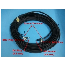 CCTV Cable- RG59+DC+Connector,High Quality,No Signal Drop,RG59+DC(10m)