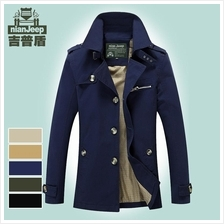 Jeep Cotton Casual Jacket Men Coat (Plus Size)