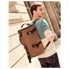 Men Backpack Laptop Shoulder Bag/Crossbody Bag/Messenger Bag 5 Color