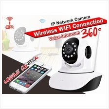 HD 720p P2P Wireless IP CCTV Camera With Alarm Sirens Sound *New*