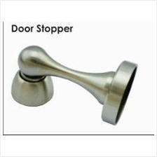 Home Door Stopper Holder Magnetic Catch Stainless Steel Silver 4103