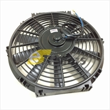 Universal Car Condenser Cooler Fan Air Cond Radiator with Motor 12V 24V
