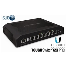 TS-8-PRO Ubiquiti ToughSwitch POE PRO 8 port Gigabit Switch 48V 24V