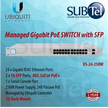 US-24-250W Ubiquiti Unifi Switch POE+ 24 port SFP UBNT Malaysia