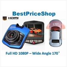 HD 1080P Wide Angle Car DVR Camera Video Recorder Night Vision T208-X